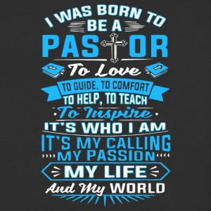 I Was Born To Be A Pastor T Shirt - Baseball T-Shirt