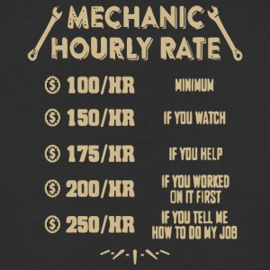 Mechanic Hourly Rate T Shirt - Baseball T-Shirt