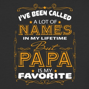 Papa Is My Favorite T Shirt - Baseball T-Shirt