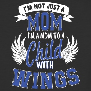 Mom Child Wings T Shirt - Baseball T-Shirt
