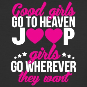 Jeep Girls Go Wherever Yhe Hell They Want T Shirt - Baseball T-Shirt