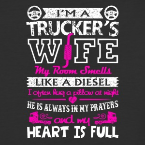 I'm A Trucker's Wife T Shirt - Baseball T-Shirt