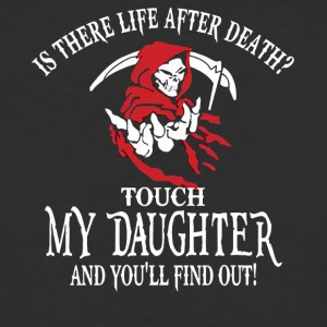 Is there life after death halloween shirt - Baseball T-Shirt