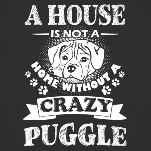A House Is Not A Home Without A Puggle Shirt - Baseball T-Shirt