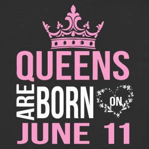 Queens are born on May 11 - Baseball T-Shirt