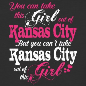 This Girl Love Kansas City - Baseball T-Shirt