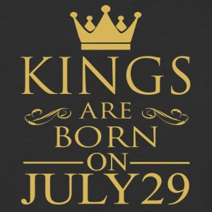 Kings are born on July 29 - Baseball T-Shirt