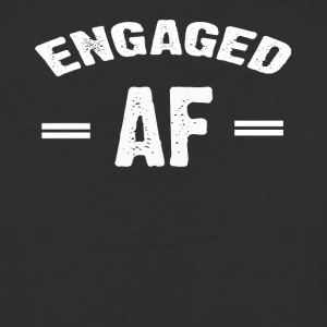 Engaged AF T-shirt - Baseball T-Shirt