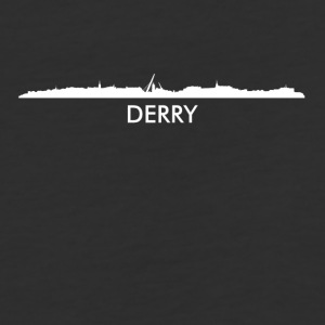 Derry Northern Ireland Skyline - Baseball T-Shirt