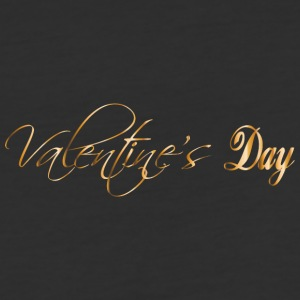 happy-valentines day-gold-inscription - Baseball T-Shirt