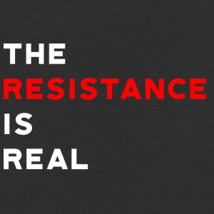 The Resistance is Real - Baseball T-Shirt