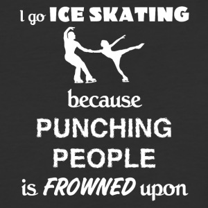 Ice Skating Love Gift- cool shirt,geek hoodie,tank - Baseball T-Shirt
