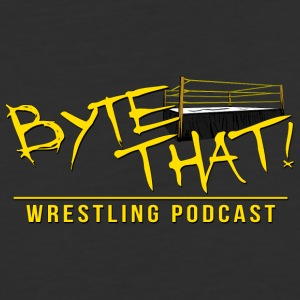 Byte That Wrestling Podcast Logo Clothing - Baseball T-Shirt
