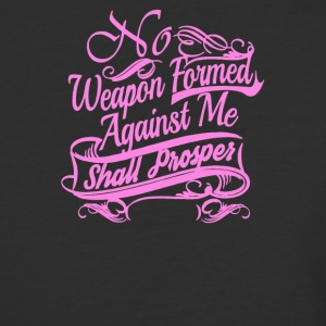 No Weapon formed against me shall prosper - Baseball T-Shirt