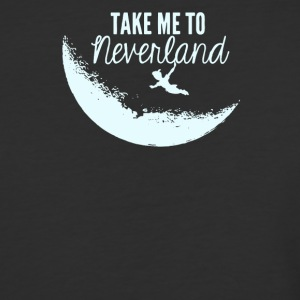 Tke me to neverland - Baseball T-Shirt