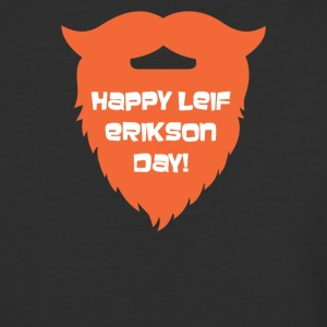 Happy Leif Erikson Day Funny - Baseball T-Shirt