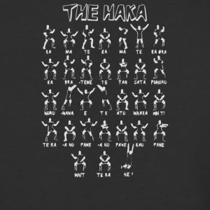 The Haka New Zealand All Blacks - Baseball T-Shirt