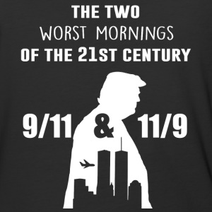 The two worst mornings of the 21st century - Baseball T-Shirt