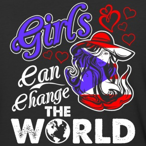Puerto Rican Girls Can Change The World - Baseball T-Shirt