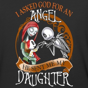 I asked God for an Angel - Baseball T-Shirt