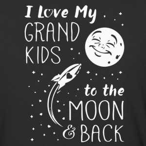 I Love My GrandKids to the Moon and Back - Baseball T-Shirt