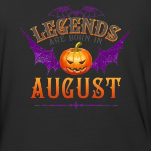 Legends Are Born In August - Baseball T-Shirt