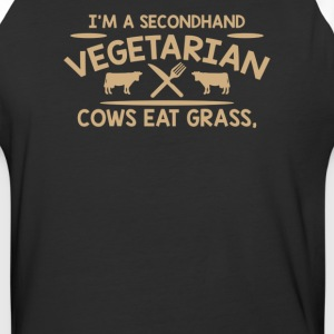 Im A Second Hand Vegetarian Cows - Baseball T-Shirt
