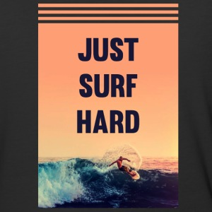 Just Surf Hard shirt - Baseball T-Shirt
