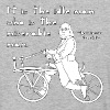 ben franklin cycling quote - Baseball T-Shirt