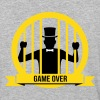 game over bachelor groom party marriage wedding - Baseball T-Shirt