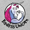 Badass Unicorn - Baseball T-Shirt