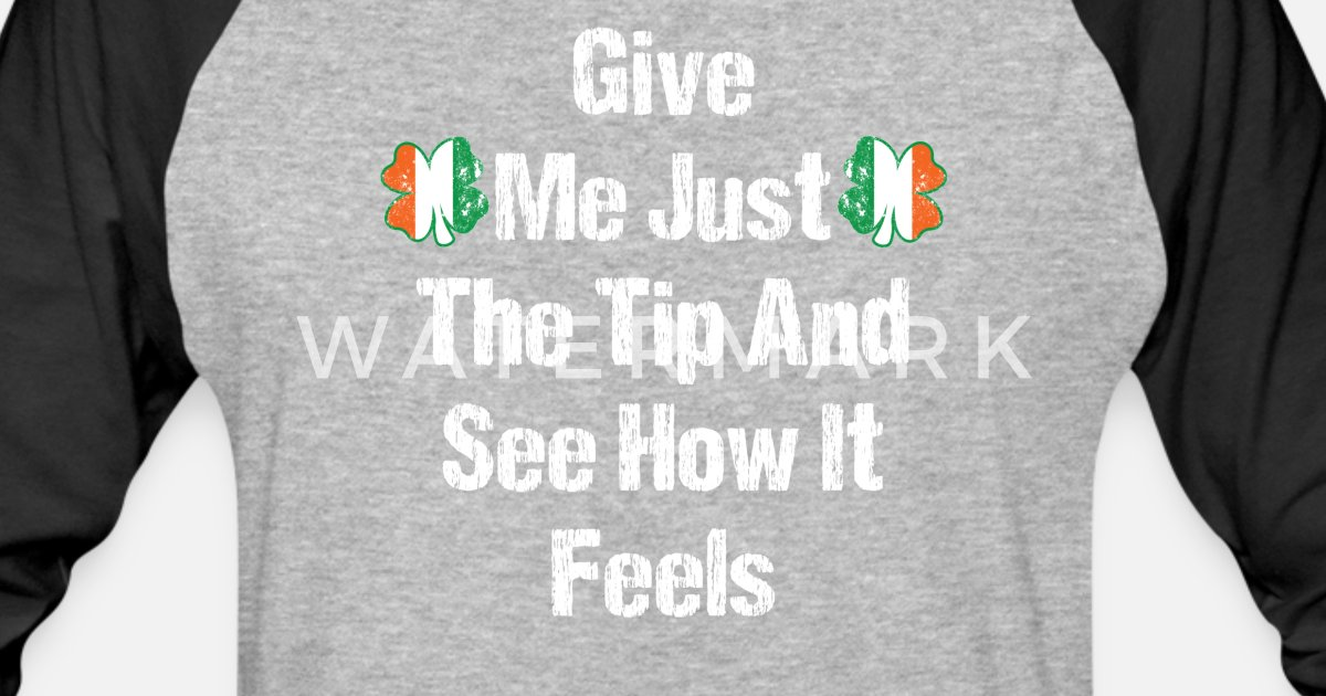 58733ca1a Funny Bartender Shirt St. Patricks Day Bartender Tip Tee Unisex Baseball T- Shirt | Spreadshirt