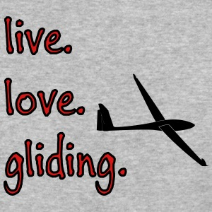 live love gliding - Baseball T-Shirt