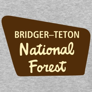 Bridger–Teton - Baseball T-Shirt