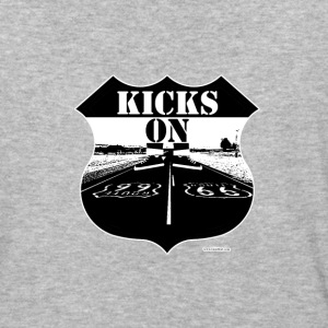 Kicks on Route 66 - Baseball T-Shirt