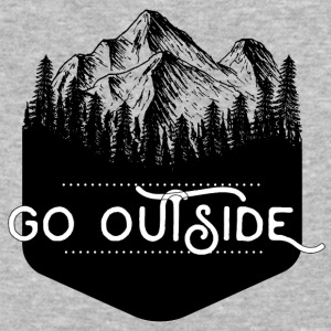 Go Outside - Baseball T-Shirt