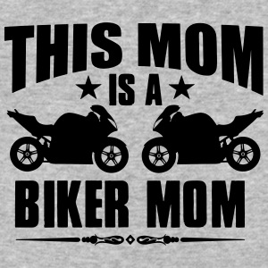 Biker mom - Baseball T-Shirt