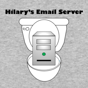 Hilary's Email Server - Baseball T-Shirt