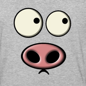 Pig Face - Baseball T-Shirt