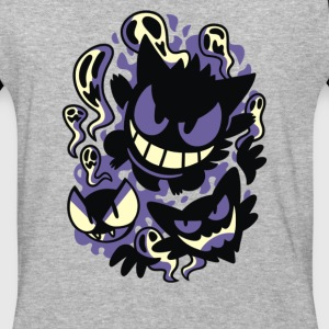 Ghastly Haunting Ghouls - Baseball T-Shirt