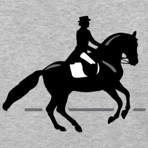 Dressage Rider - Baseball T-Shirt