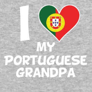 I Heart My Portuguese Grandpa - Baseball T-Shirt
