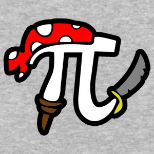 Pi Pirate - Baseball T-Shirt