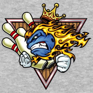 bowling_king - Baseball T-Shirt