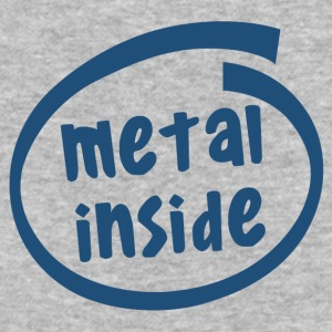 metal inside (1838C) - Baseball T-Shirt