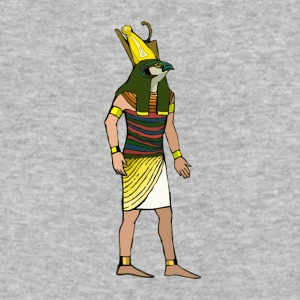 Ancient Egyptian Painting - Horus, the Falcon God - Baseball T-Shirt