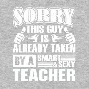 Teacher Shirt - Smart Sexy Teacher's Boyfriend - Baseball T-Shirt