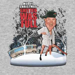 Merry christmas shitter was full shirt - Baseball T-Shirt