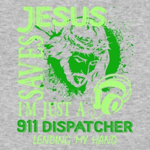 I'm Just A 911 Dispatcher Lending My Hand Shirt - Baseball T-Shirt