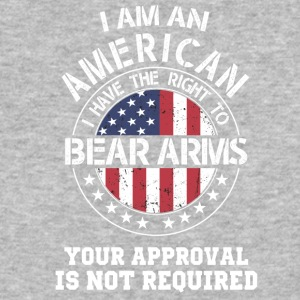 I am an american I have the right to bear arms - Baseball T-Shirt